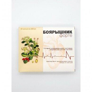 BOJARIŠNIK FORTE 30 kapsulių po 0,3 g