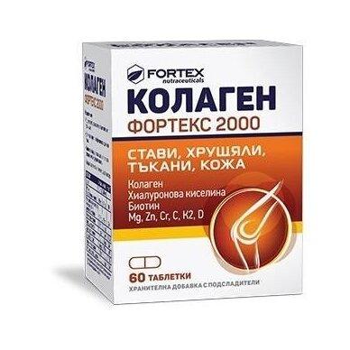 Collagen Fortex 2000 tabletės N60