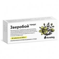Jonažolė tonus Amateg 200mg tabletės N30
