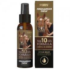 Lošadinaja Sila atstatantis aliejų kompleksas plaukams 100 ml.