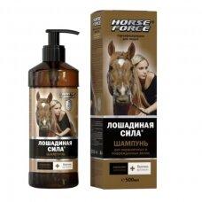 Lošadinaja Sila atstatantis šampūnas 500 ml.