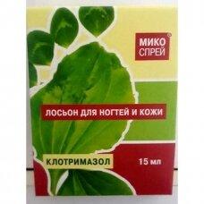 Losjonas nagams Mikosprei 15 ml.