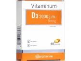 Maisto papildas Vitaminas D3 2000 TV Strong Starpharma N60