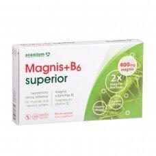 MAGNIS+B6 SUPERIOR, 30 kapsulių