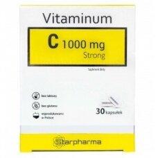 Maisto papildas Vitaminas C 1000mg Strong Starpharma N30