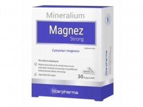 Maisto papildas Magnez Strong 30 kaps. Starpharma