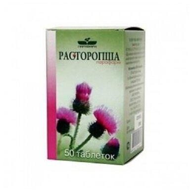 Maisto papildas Tikrojo margainio tabletės (Parafarm) N50