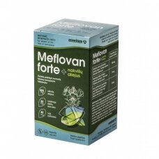 Meflovan forte + nakvišų aliejus kaps. N60