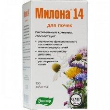 MILONA 14 Maisto papildas 0,5 g tabletės N100