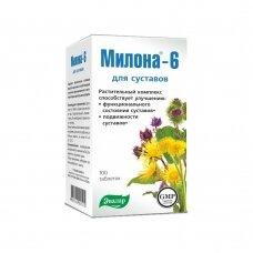 MILONA-6 N100 (Evalar) N100 Maisto papildas sąnariams