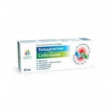 """NM Kosmetinis gelinis balzamas """"Chondroitinas ir Sidabražolė"""", 85 ml"""