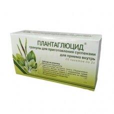 Plantaglucido granulės, 1 g Maisto papildas