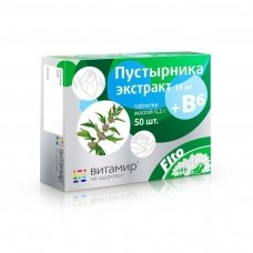 Vitamir Suktažolių ekstraktas + vit. B6, 50 tabl.