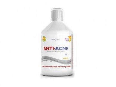 Vitaminai Anti-Acne, 500 ml.